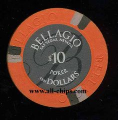 Las Vegas casino Chip of the day is a $10 Bellagio 2nd issue UNC you can get here http://www.all-chips.com/ChipDetail.php?ChipID=17898 #casinochip #casino