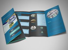 Medical Billing & Coding Services Tri Fold Brochure Templates