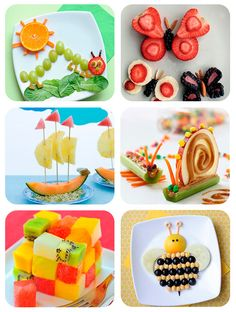 cooking for kids easy,cooking for kids healthy,cooking for kids picky eaters Cute Snacks, Healthy Snacks For Kids, Cute Food, Healthy Cooking, Cooking With Kids Easy, Food Art For Kids, Toddler Meals, Kids Meals, Kreative Snacks
