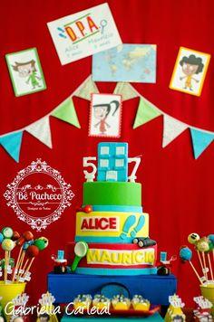 D.P.A. para os irmão Alice e Maurício! - Bê Pacheco