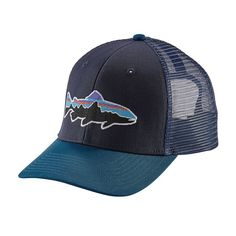 79df297c7ea Blue Ridge Mountain Outfitters - Patagonia Fitz Roy Trout Trucker Hat
