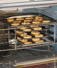 3-Tier Oven Companion Racks Over Space Saver Cookie or Casserole [SM991008-4O6R-CSS] - $15.95 : Smart Saver LLC