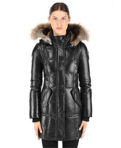 RUDSAK Outerwear (BLACK, GENUINE LAMB LEATHER) | HANNA