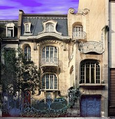 La villa Brion  Probably the last remaining house of art nouveau architecture in Strasbourg.  Gorgeous!