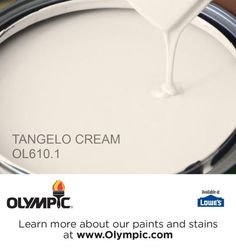 TANGELO CREAM OL610.1 is a part of the oranges collection by Olympic® Paint.