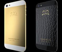Novas capas para iPhone 5 são feitas com ouro 24 quilates e pele de jacaré