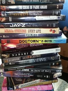 Have an Educational Movie Day with Nonfiction DVDs. B*