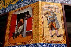 Azulejos Los Timbales. Calle Alcalá. Madrid