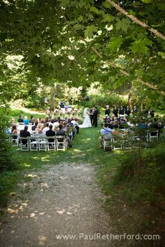 The Inn at Stonecliffe Grotto Wedding Photography | Mackinac Island | Paul Retherford photo by http://www.paulretherford.com #puremichigan
