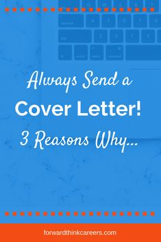 Wish you didn't have to write a cover letter EVER again? But there are 3 important reasons why this job search document is your friend. Cover Letter Tips, Free Cover Letter, Writing A Cover Letter, Cover Letters, Cover Letter Sample, Cover Letter Template, Resume Writing Tips, Resume Tips, Administrative Assistant Cover Letter