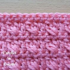 Free Crochet Tutorial Houndstooth Stitch - Crochet 'n' Create
