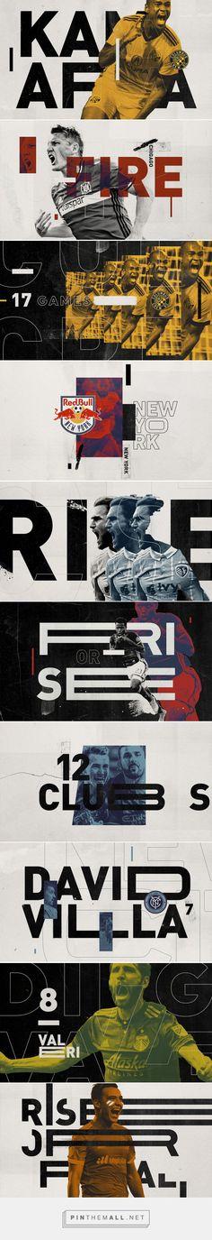 Major League Soccer on Behance - created via https://pinthemall.net