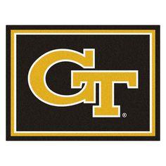 ce173d65ef0 Georgia Tech Yellowjackets NCAA 8ft x10ft Area Rug