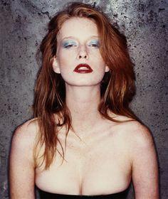 redhead makeup beauty