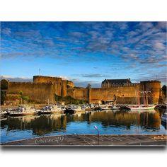 Le #Château de #Brest #myfinistere via @sese29 #finistère #bretagne #brittany