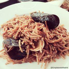 Apetitosa Fideuá Paella, Pulled Pork, Spaghetti, Ethnic Recipes, Food, Aioli, Dishes, Pasta Types, Shredded Pork
