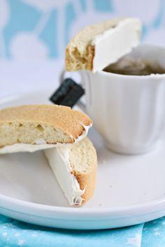 White Chocolate Lemon Biscotti