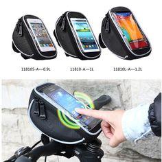 Roswheel téléphone portable vélo vélo avant cadre supérieur guidon sac PVC Case écran tactile vtt vélo pochette étanche dans Panier pour vélo de Sports et divertissement sur AliExpress.com | Alibaba Group