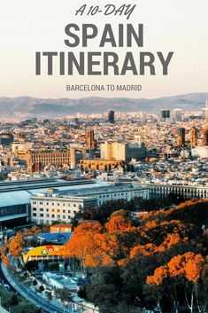 A 10 day trip itinerary to Spain.  Visit Barcelona, Monsteratt, Girona, Figueres, Madrid, Segovia, and Toledo on this Europe vacation.