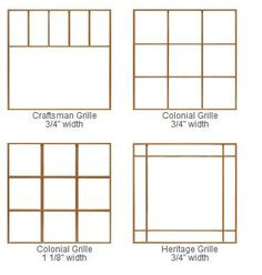 Simulated Divided Lites Muntins Engler Window And Door