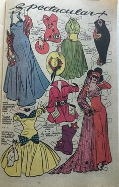 From Katy Keene Special #4 1984, reprinted from unknown 1950s Katy Keene issue