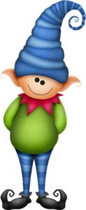 CHRISTMAS ELF CLIP ART