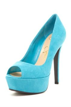 Jessica Simpson Darius Pump~If I knew how to walk in heels