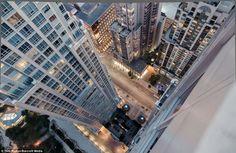 Du haut du gratte-ciel (photographe canadien Tom Ryaboi)