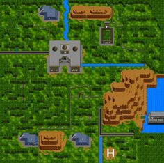 Jurassic Park Map (SNES) Somehow this map seemed much more vast while playing. Still awesome though!
