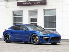2012 TopCar Porsche Panamera Stingray GTR Front Side