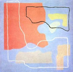 Wladyslaw Strzeminski, Kompozycja Abstrakcyjna Contemporary Abstract Art, Modern Art, Oil Painting Abstract, Textures Patterns, Screen Printing, Museum, Kids Rugs, Graphic Design, Fine Art