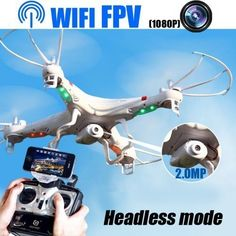 NewWifi FPV RC Quadcopter Builtin Camera with Headless ModePhone Or Transmitter control RC Drone *** Find out more about the great product at the image link.