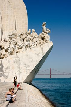 Monument to the Discoveries, Lisbon, Portugal