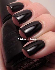 Chloe's Nails: China Glaze Liquid Leather | #EssentialBeautySwatches | BeautyBay.com