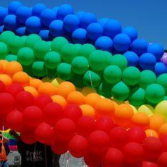 balloons and balloons and balloons, #GUESScolor