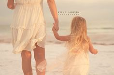 Anna Maria Island Family Photography mother daughter on beach