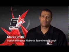 Canadian Women's National Team Head Coach Mark Smith talks about Softball Canada's CANpitch Program. Softball Canada, Mark Smith