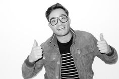 Ed Westwick shot by Terry Richardson.