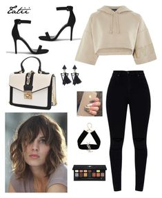 """""""Sem título #56"""" by tatianabraolis on Polyvore featuring moda, Topshop, Forever 21, Yves Saint Laurent e Anastasia Beverly Hills"""