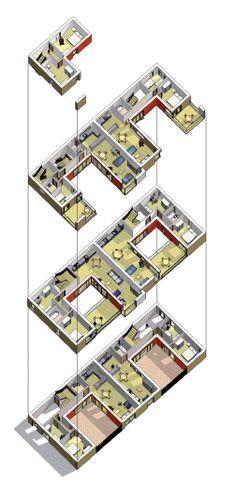 Courtyard housing typology.