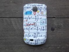 I Love Math Thailand decoupage case Back to school for Samsung Galaxy mini /Cover case / Hard Case / Accessories / smartphone on Etsy, ฿463.26