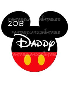 Mickey Mouse Classic for DIY Printable Iron Transfer family  Disney trip Applique Vacation Shirt