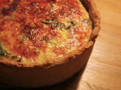 Spinat-Champignon-Quiche - Kochen für Schlampen
