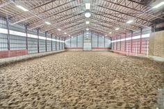 Beautiful Riding Ring as part of this stunning Equestrian Estate for sale in Shediac Cape NB... https://www.horseproperties.net/properties/New+Brunswick/Westmorland+County/Shediac+Cape/24130