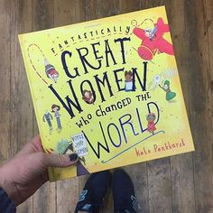 """This brilliant book is back in stock and available now 'Fantastically great women who changed the…"""""""