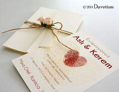 Davetizm R01 Davetiye Tasarımı #davetizm #wedding #invitation #davetiye #design #dugun #modern #parmakizi #fingerprints #tasarım #nametag #red davetizm.com