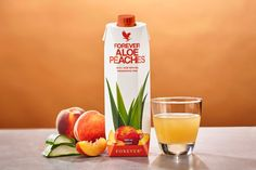 Forever Aloe Peaches™ | Forever Living Products Austria Forever Aloe, Forever Living Aloe Vera, Aloe Vera Gel, Gel Aloe, Aloe Blossom Herbal Tea, Aloe Berry Nectar, Forever Freedom, Aloe Drink, Clean9