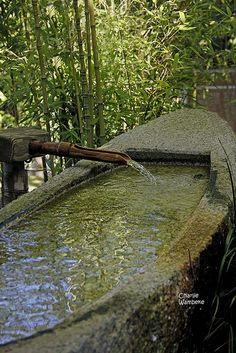 Fountain, Japanese Tea Garden, Golden Gate Park, San Francisco, CA, USA | Flickr - Photo Sharing! by Charlie Wambeke
