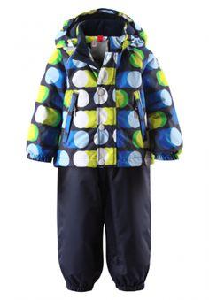 Комплект Reimatec Saturnus - очень удобная конструкция для активных детей. Куртка+штаны на резиновых лямках. http://cutieshop.com.ua/zimniy-progulochnyy-komplekt-reimatec-saturnus-siniy