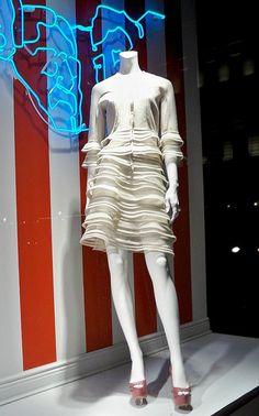 Bergdorf Goodman window display.